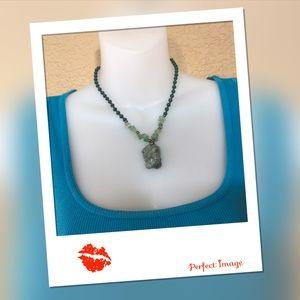Aventurine Stone Necklace